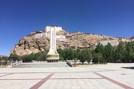 藏区骑行60日~第36 37天「访江孜宗山遗址,热情日喀则骑友」| Riding in the Tibetan area for 60 days~Thirty-sixth days