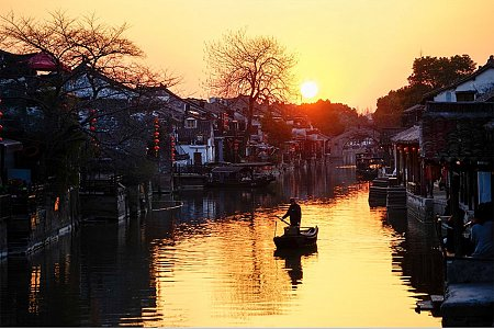 Golden Xitang Ancient Town