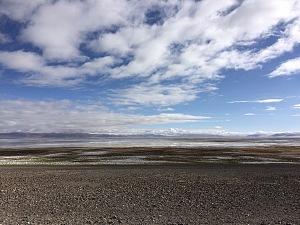 藏区骑行60日~第47天「天空之境,一半湖水,一半盐」Riding in the Tibetan area for 60 days~The Forty-seventh days