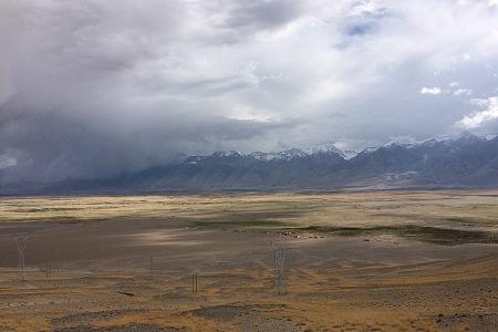 藏区骑行60日~第54 55天「过昆莎机场,抵狮泉河镇,雨中行车」Riding in the Tibetan area for 60 days~The Fifty-fourth Fifty-fifth days