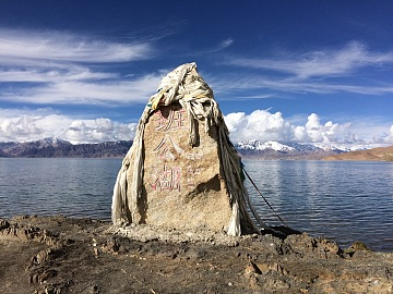 藏区骑行60日~第56天「醉美班公错,大半在中国,小半在印度」Riding in the Tibetan area for 60 days~The Fifty-sixth days