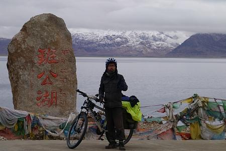藏区骑行60日~第57天「不舍班公错,转角遇神湖,暴雨中前行」Riding in the Tibetan area for 60 days~The Fifty-seventh days
