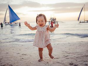 带六宝看世界——长滩行(1)|Watch the world with Liubao baby – Boracay (1)