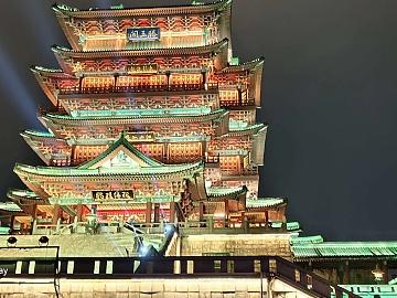 夜游中国江西名楼滕王阁🏯 Night Tour China's Jiangxi Famous Building Tengwang Pavilion