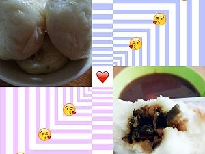 稀好吃哒包子😋 Particularly delicious buns