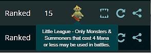 Steemmonsters打斗新规则:小联盟怪物的有趣排阵