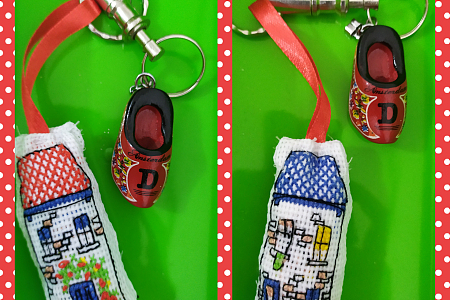 Home sweet home keychain – easy handmade/handcraft how to