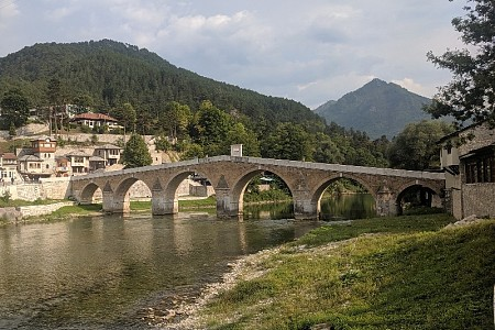 Visited another famous bridge of BiH