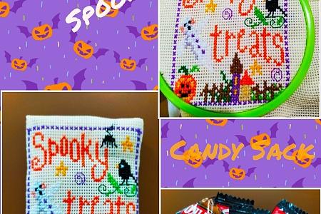 Halloween Decoration Idea: Spooky Treats! Candy Sack – easy handmade how to + HINTS